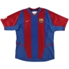 2002-03 Barcelona Home Shirt Mendieta #17 L