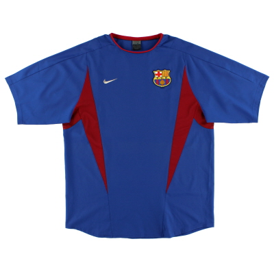 2002-03 Barcelona Training Shirt L