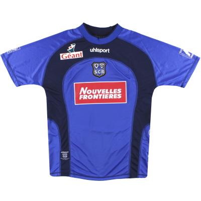 2002-03 Bastia uhlsport Home Shirt XL