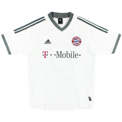 2002-03 Bayern Munich Away Shirt L