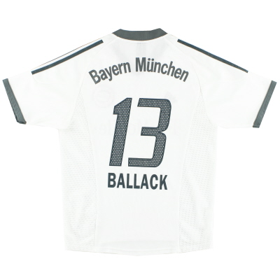 2002-03 Bayern Munich Away Shirt Ballack #13 S