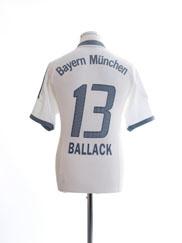 2002-03 Bayern Munich Away Shirt Ballack #13 XL