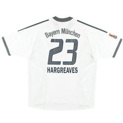 2002-03 Bayern Munich Away Shirt Hargreaves #23 XL