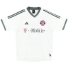 2002-03 Bayern Munich Away Shirt Hargreaves #23 XL