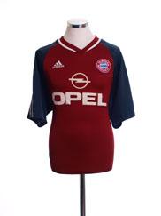 2001-02 Bayern Munich Home Shirt L