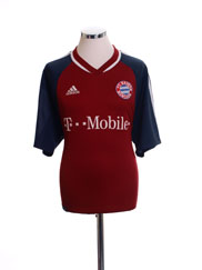2002-03 Bayern Munich Home Shirt L