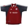 2002-03 Bayern Munich Home Shirt Scholl #7 L