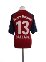 2002-03 Bayern Munich Home Shirt Ballack #13 S