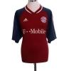 2002-03 Bayern Munich Home Shirt Scholl #7 XXL