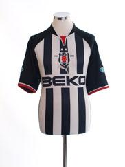 2002-03 Besiktas Centenary Away Shirt M