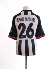 2002-03 Besiktas Centenary Away Shirt Ilhan Mansiz #26 XL