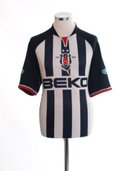 2002-03 Besiktas Centenary Away Shirt M