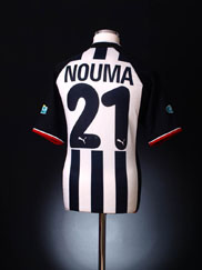 2002-03 Besiktas Centenary Away Shirt Nouma #21 M