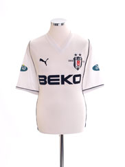 2002-03 Besiktas Centenary Home Shirt L