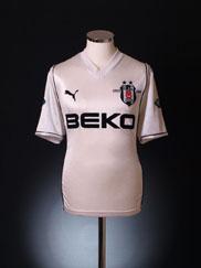 2002-03 Besiktas Centenary Home Shirt M