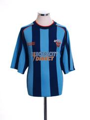 2002-03 Blackpool Away Shirt XL