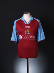 2002-03 Burnley Home Shirt L