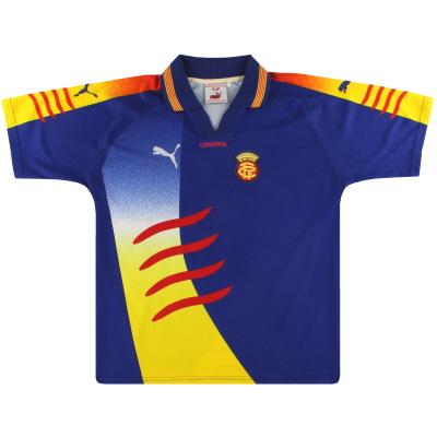 2002-03 Catalunya Puma Away Shirt XL