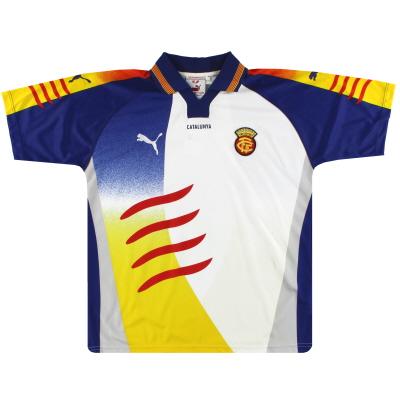 2002-03 Catalunya Puma Home Shirt L