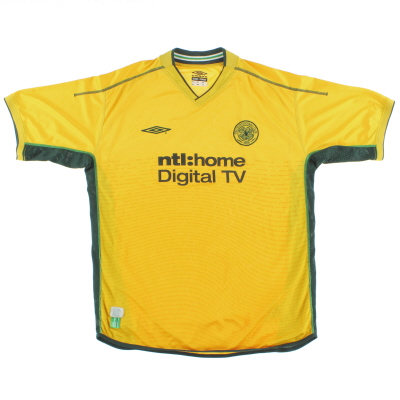 2002-03 Celtic Away Shirt XL