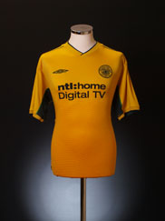 2002-03 Celtic Away Shirt L
