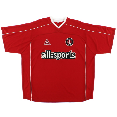 2002-03 Charlton Home Shirt *Mint* XL