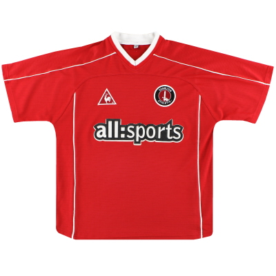 2002-03 Charlton Le Coq Sportif Home Shirt M