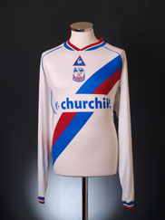 2002-03 Crystal Palace Away Shirt L/S XXL
