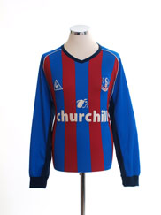 2002-03 Crystal Palace Home Shirt L/S L
