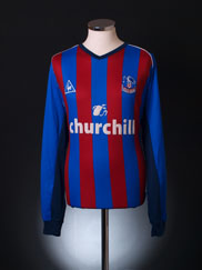 2002-03 Crystal Palace Home Shirt L/S XXL