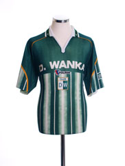 2002-03 Deportivo Wanka Home Shirt M