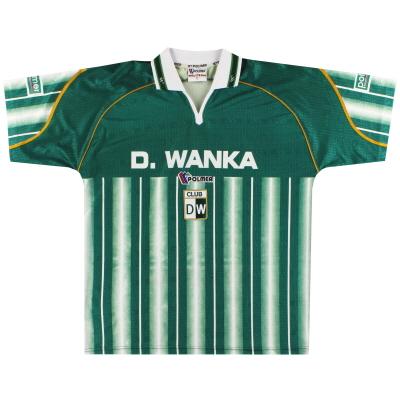 2002-03 Deportivo Wanka Home Shirt *Mint* XL