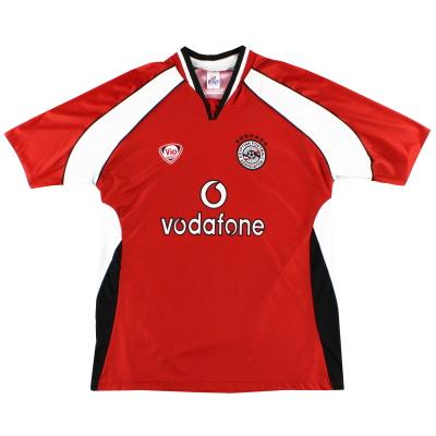 2002-03 Egypt Home Shirt M