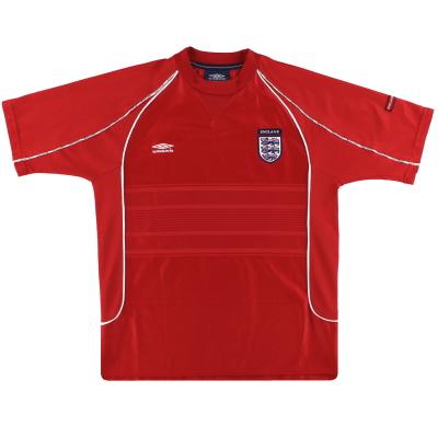 2002-03 England Umbro Training Shirt M
