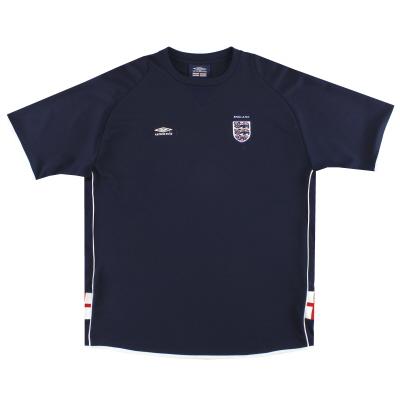 2002-03 England Umbro Training Shirt XL