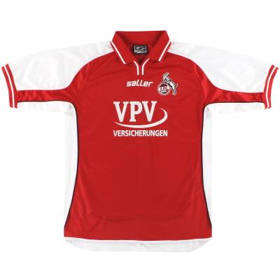 2002-03 FC Koln Home Shirt S