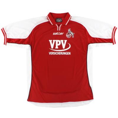 2002-03 FC Koln Home Shirt XXL