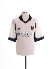 2002-03 Fulham Home Shirt XL