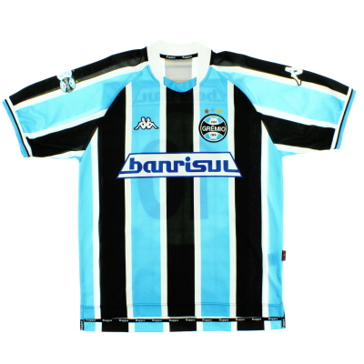 2002-03 Gremio Home Shirt #10 M