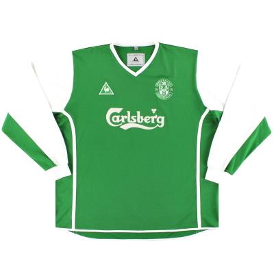 2002-03 Hibernian Le Coq Sportif Home Shirt L/S XL