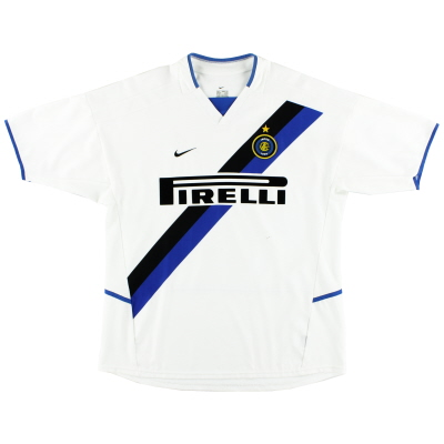 2002-03 Inter Milan Nike Away Shirt L