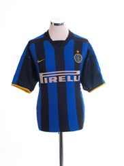 2002-03 Inter Milan Home Shirt S