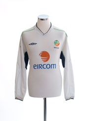 2002-03 Ireland Away Shirt L/S L
