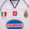 2002-03 Juventus Champions League Away Shirt XXL