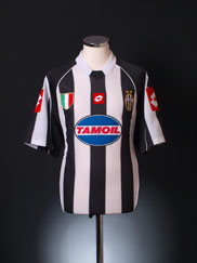 2002-03 Juventus Champions League Home Shirt XL