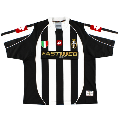 2002-03 Juventus Home Shirt #11 XL