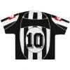 2002-03 Juventus Lotto Home Shirt #10 L