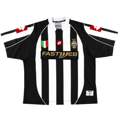 2002-03 Juventus Home Shirt L