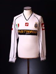 2002-03 Juventus Away Shirt L/S L