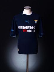 2002-03 Lazio Away Shirt L